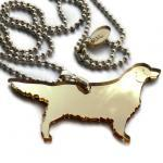 Golden Retriever Necklace,..