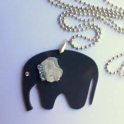 Elephant Bride Necklace